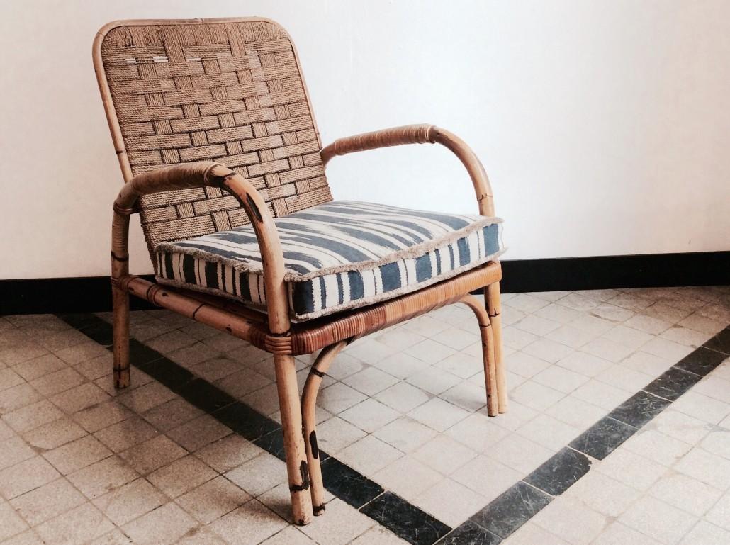 Rattansessel aus den 50er jahren my cms for Sessel aus den 50er jahren